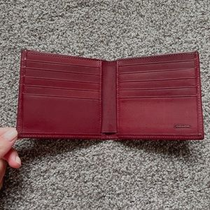 NWOT leather coach wallet